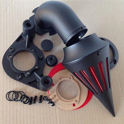 Black Spike Air Cleaner Filter intake For Harley Dyna Touring models