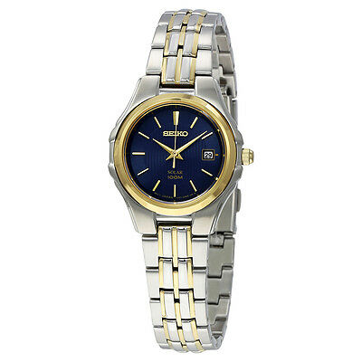 Seiko Core Dark Blue Dial Ladies  Watch SUT224