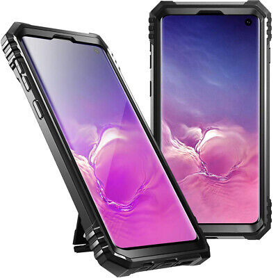 Usado, Samsung Galaxy S10 Case | Poetic Military Grade Full Body Shockproof Cover Black comprar usado  Enviando para Brazil
