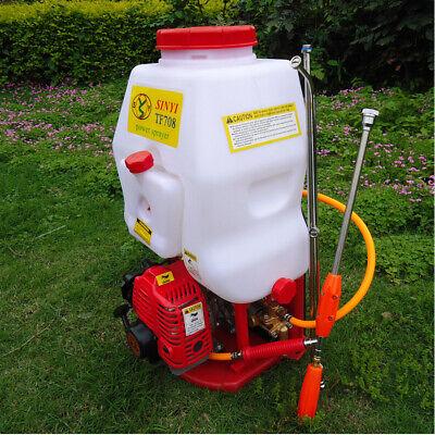 - Agricultural Weed Sprayer 20L Gasoline Engine Powered Backpack Garden Sprayer US