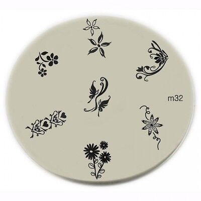 Konad Stamping Nail Art Image Plates 50 units  mix