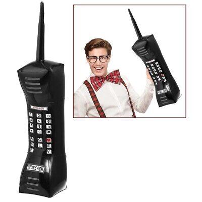 XL AUFBLASBARES HANDY # 90er Jahre Party Deko Riesenhandy Mobiles Telefon 01454