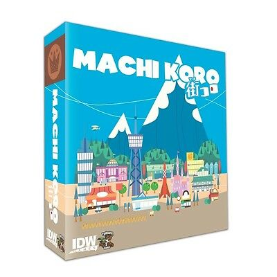 Machi Koro is a fast-paced and light-hearted die-rolling, engine-building game