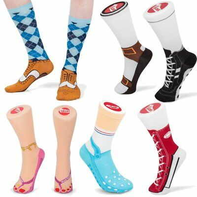 Silly Socks - Funny Novelty Unisex Gift Ideas - Christmas Stocking Filler Joke ()
