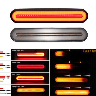 LED Auto Anhänger Lichtleiste Rücklicht Bremslicht Blinker Tagfahrlicht 4 Modus
