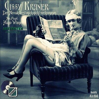 """7"""" CISSY KRANER Der Novak lässt mich nicht verkommen HUGO WIENER  AUSTROTON 1957"""