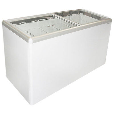Commercial Flat Lid Display Freezer Wsliding Glass Euro-16