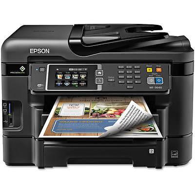 Epson WorkForce WF-3640 All-in-One Printer/Copier/Scanner/Fax Machine