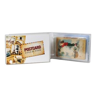 Postcard Collection Wallet/Album Kit, 25 Pages Included