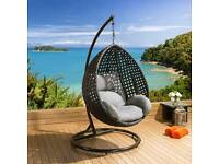Luxury Hanging Chair With Cushion