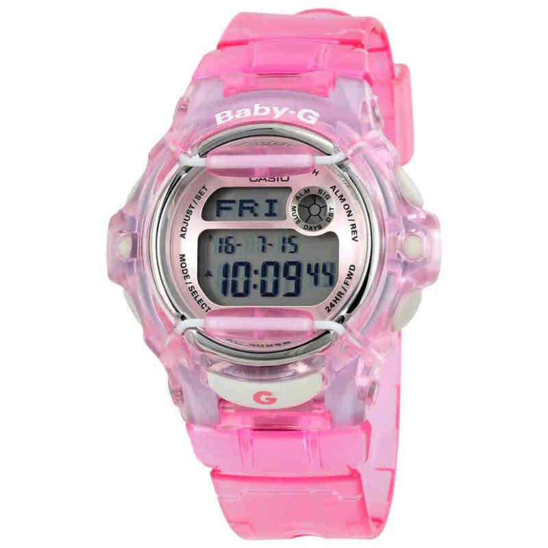 Casio-Baby-G-Pink-Resin-Digital-Ladies-Watch-BG169R-4