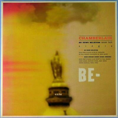 "7"" CHAMBERLAIN ex SPLIT LIP Go Down Believing DOGHOUSE Indie Rock 1998 like NEW!"