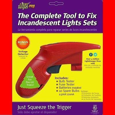 LIGHT KEEPER PRO christmas lights tester repair tool tree fixer holiday fixing  ()