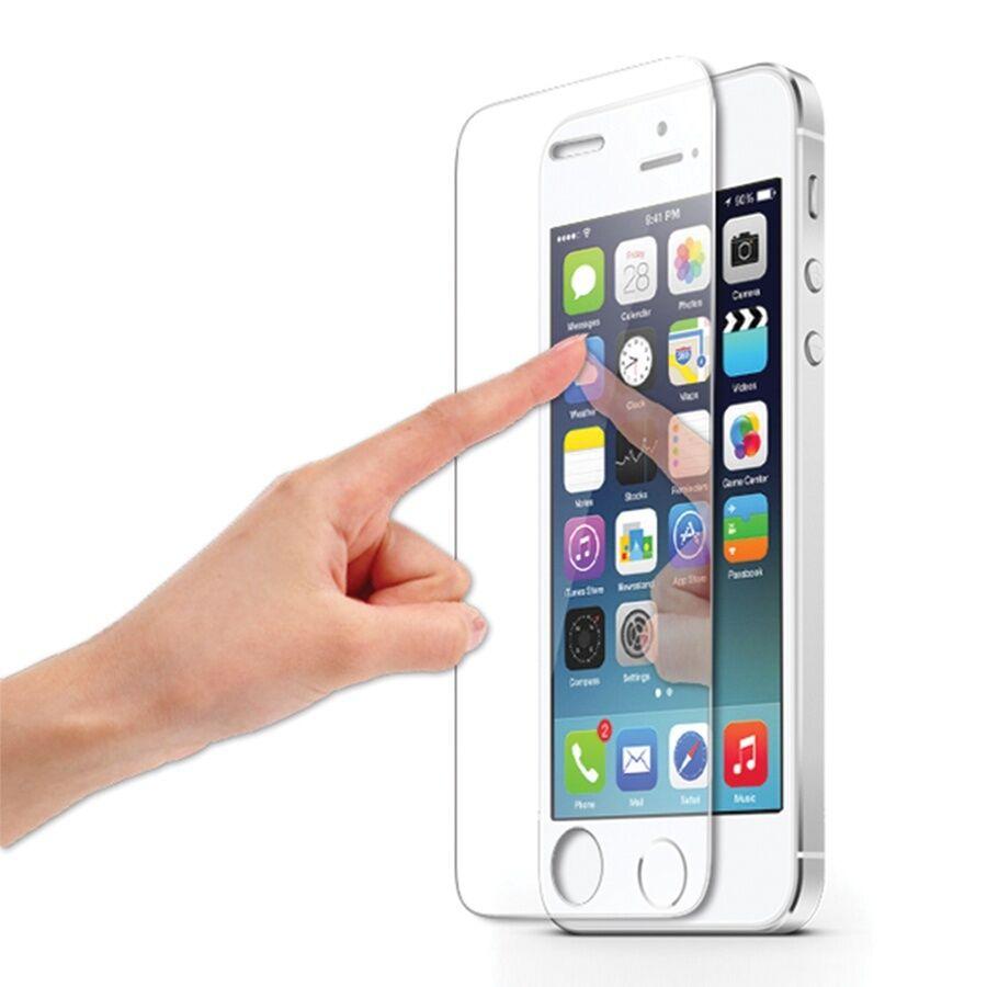 lot 5 vitre ecran film verre tremp protection pour apple iphone 4 5 6 7 s plus ebay