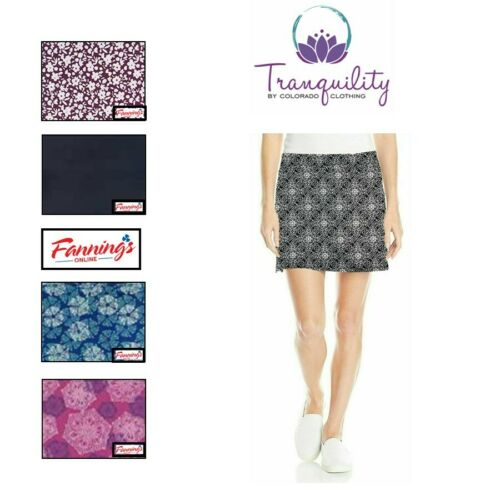 SALE! Tranquility by Colorado Clothing Ladies' Skort Skirt CLR/SZ | VARIETY E41