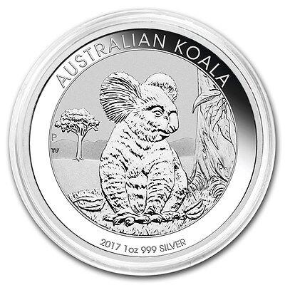 2017-P Australian Koala 1 oz .999 Silver PRE-SALE Round BU Bullion Coin