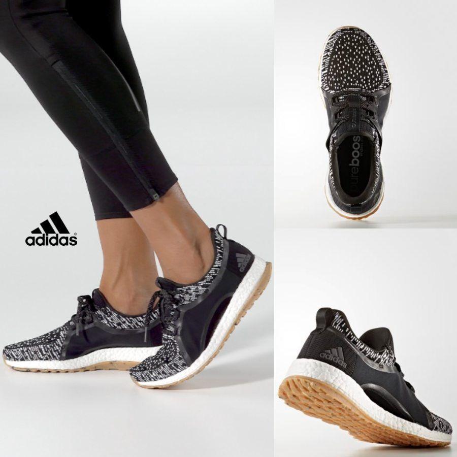 Adidas Women's Pure Boost X ART Running Sneakers Black ...