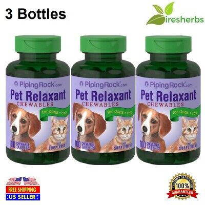 #1 BEST PET RELAXANT CHEWABLE FOR DOGS & CATS PET HEALTH SUPPLEMENT 300