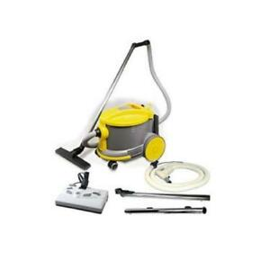 "JohhnyVac / Ghibli / ShopVac Style Canister Vacuum AS6 with 12"" LH & SW"