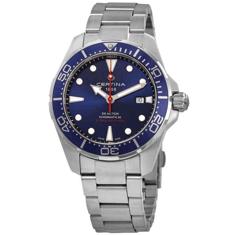 Certina DS Action Diver Blue Dial Automatic Men Watch C032.407.11.041.00