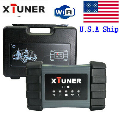 USA XTUNER T1 Heavy Duty Trucks Intelligent Diagnostic Tool Diesel Scanner WIFI