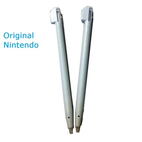 Lot 2 x OEM Nintendo DS Lite Stylus-USG-004-Bulk-PEARL WHITE-New ** US SELLER**