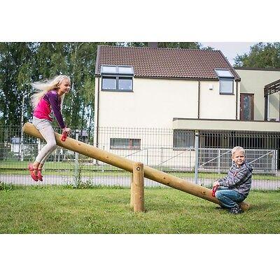 Wippe aus Holz für Kinder im Garten Holzwippe Gartenwippe - Gartenpirat GP7085