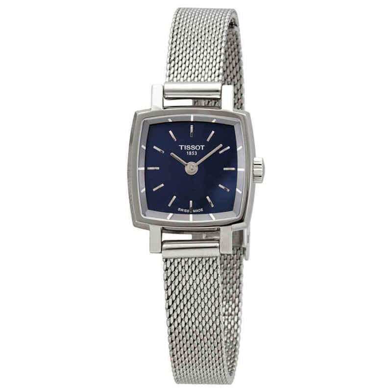 Tissot Lovely Square Quartz Blue Dial Ladies Watch T058.109.11.041.00