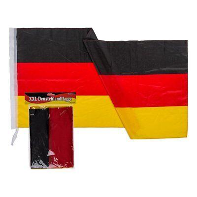 XXL Deutschland Fahne Flagge 120 x 180 cm XL Fahne NEU/OVP Fanartikel WM 2018