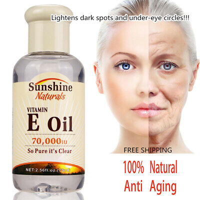 - 100% Natural Vitamin E Pure Jojoba Oil Organic Hair Essence Oil Anti Aging