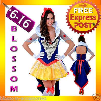 incess Snow White Fairy Tale Fancy Dress Halloween Costume (99 Halloween)