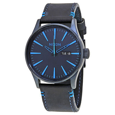 Nixon Sentry Blue Dial Mens Watch A1052224