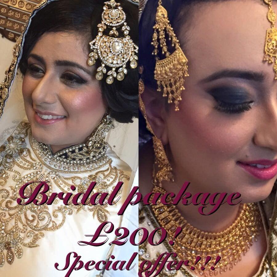 Birmingham Asian Bridal Makeup & Hair £200! Special Offer/ Birmingham Makeup Artist. Bridal Makeup