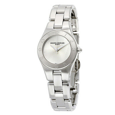 Kyпить Baume et Mercier Linea Silver Dial Stainless Steel Ladies Watch 10138 на еВаy.соm