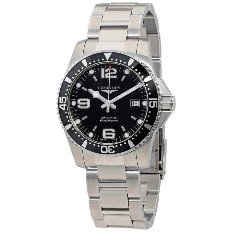 Longines-HydroConquest-41mm-Automatic-Black-Dial-Men-Watch-L3.742.4.56.6
