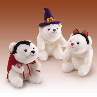 Mini Snuffles Cat Ears Halloween Bear NEW - Gund Halloween Snuffles
