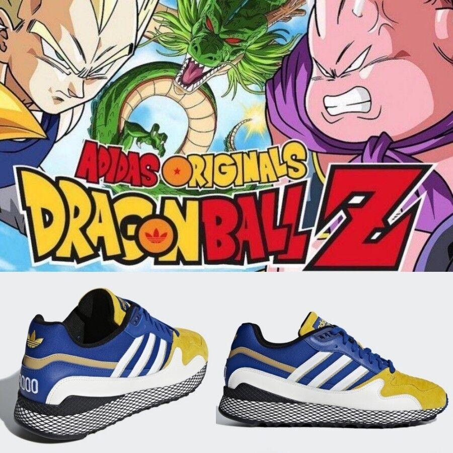 adidas Originals x Dragon Ball Z Ultra Tech Vegeta US 4-10 D97054 White Royal