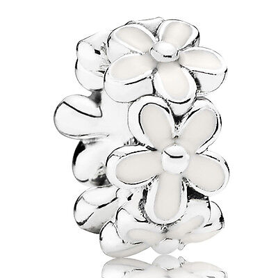 PANDORA Charm Spacer Element 791495 EN12 Gänseblümchen Silber Bead
