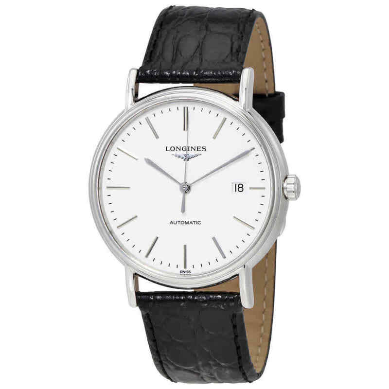 Longines Presence Automatic White Dial Men Watch L49214122
