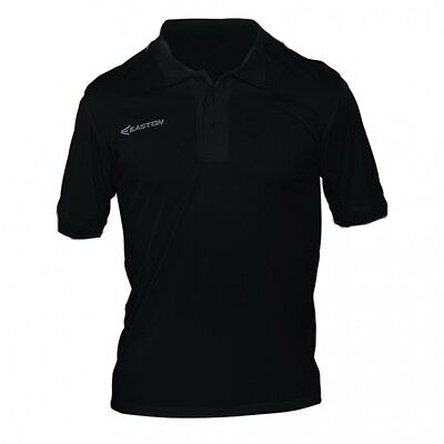 Easton Vent - Easton S4 Vented Polo Black Adult