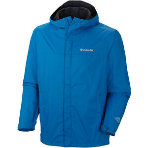 COLUMBIA WATERTIGHT II JACKET MENS BLACK BLUE GREEN SAGE S M L XL XXL RAIN COAT
