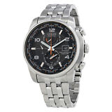 Citizen Eco Drive Stainless Steel Mens Watch AT9010-52E