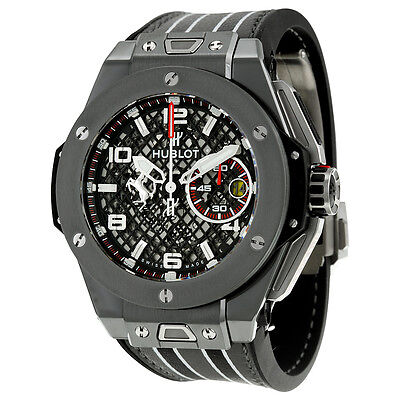 Hublot Big Bang Ferrari Speciale Limited Edition Chronograph Mens Watch