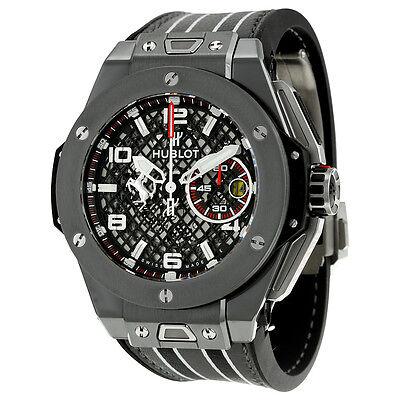 Hublot Big Bang Ferrari Speciale Limited Edition Chronograph Mens Watch