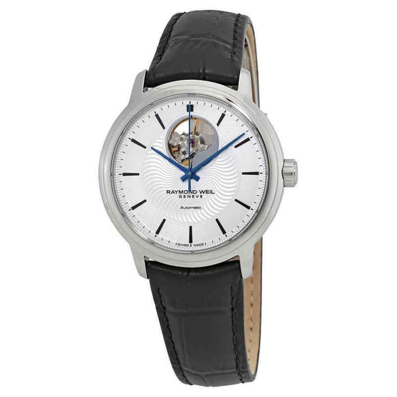 Raymond Weil Maestro Automatic Silver Dial Men Watch 2227-STC-65001