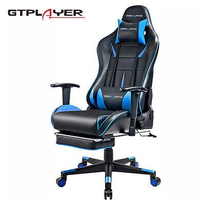 Ergonomische Schreibtisch-stühle (GTPLAYER Gaming Stuhl Racingstuhl Ergonomisches Schreibtischstuhl PC Stuhl)