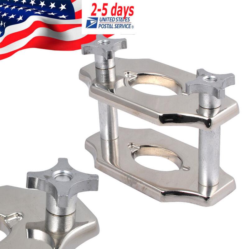 US Dental Reline Jig Single Compress Press Demtal Lab Chrome Coated FDA CE
