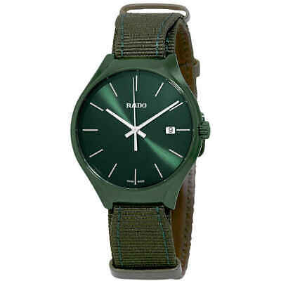 Rado True Quartz Green Dial Men's Watch R27233316