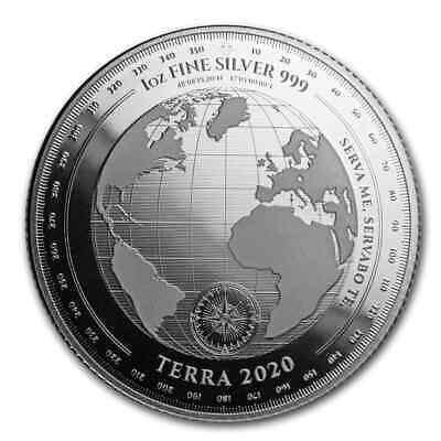 2020 Tokelau 1 oz Silver $5 Terra (Prooflike) - SKU#204875