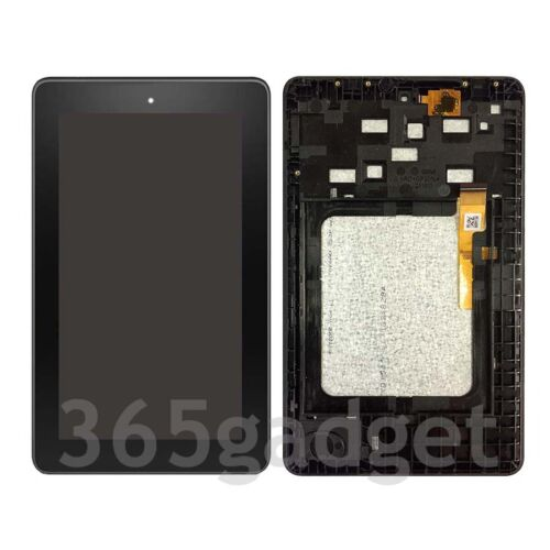 LCD Screen Display + Touch Digitizer For Amazon Kindle Fire 7 5th SV98LN + Frame